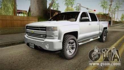 Chevrolet Cheyenne LT 2016 for GTA San Andreas