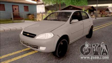 Chevrolet Aveo v2 Sin Sonido Version Sencilla for GTA San Andreas