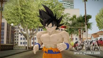 DBXV2 Goku Limit Breaker Skin for GTA San Andreas