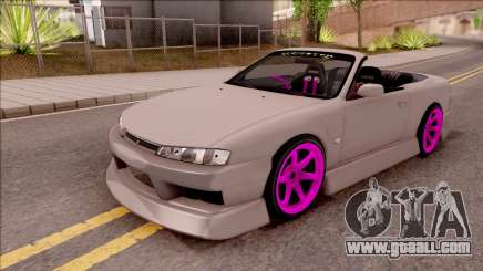 Nissan 200SX Cabrio Drift Monster Energy v2 for GTA San Andreas