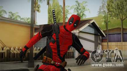 Deadpool The Movie Skin for GTA San Andreas