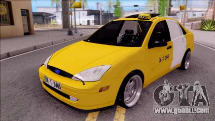 Ford Focus Mk1 Turkish Taxi for GTA San Andreas