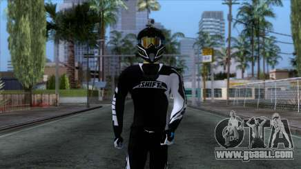 Motorcyclist Skin for GTA San Andreas