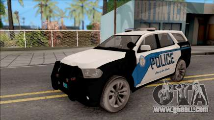 Dodge Durango 2011 Los Santos Police Department for GTA San Andreas
