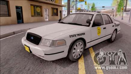 Ford Crown Victoria 2009 Iowa State Patrol for GTA San Andreas