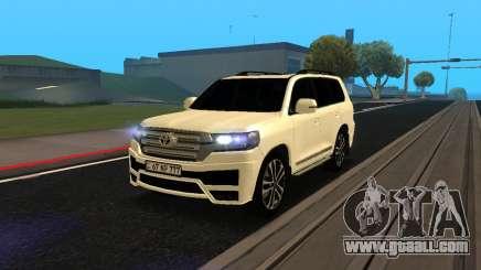 Toyota Land Cruiser 200 2017 Armenian for GTA San Andreas