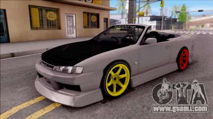 Nissan 200SX Cabrio Drift Monster Energy for GTA San Andreas