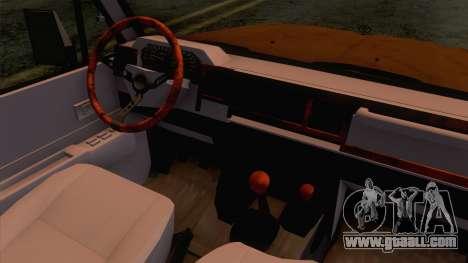 Toyota Land Cruiser FJ70 2005 for GTA San Andreas inner view