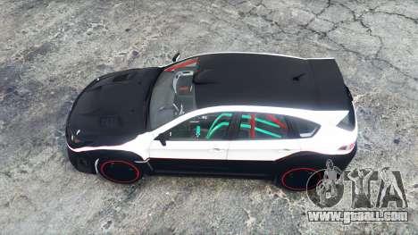 GTA 5 Subaru Impreza WRX STi (GRB) 2009 [replace] back view