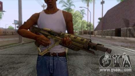 Evolve - Submachine Gun for GTA San Andreas third screenshot