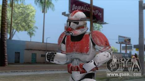 Star Wars JKA - Clone Shock Trooper Skin for GTA San Andreas