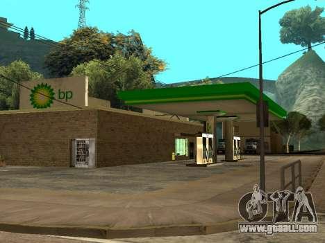 BP Gas Station for GTA San Andreas forth screenshot
