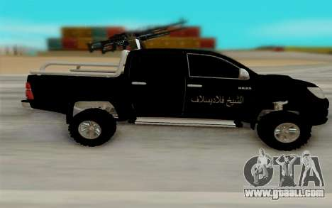 Toyota Hilux for GTA San Andreas left view