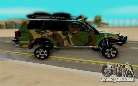 Mitsubishi Pajero IV for GTA San Andreas right view