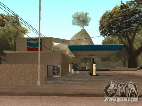 Chevron Gas Station for GTA San Andreas