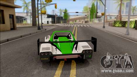Radical SR8 RX v2 for GTA San Andreas back left view