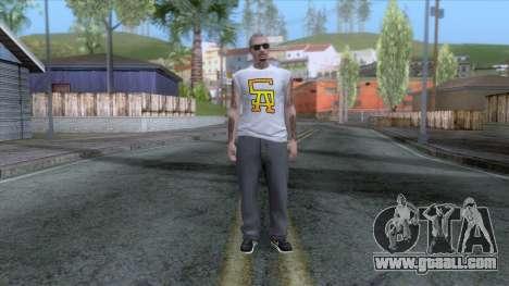 Outfit Gangsta - Skin Random v21 for GTA San Andreas second screenshot
