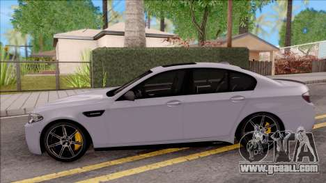 BMW M5 F10 M Performance for GTA San Andreas left view