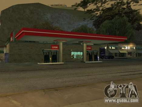 Lukoil Gas Station for GTA San Andreas