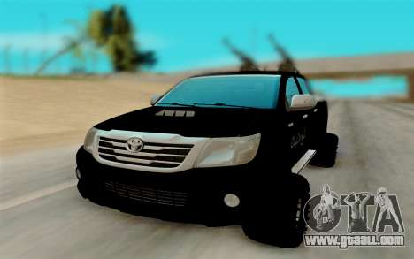 Toyota Hilux for GTA San Andreas right view