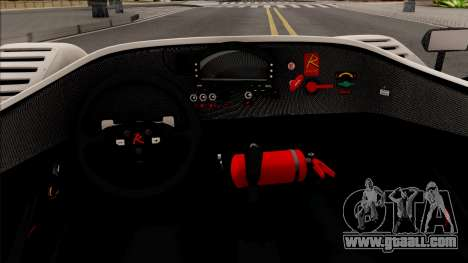 Radical SR8 RX v2 for GTA San Andreas inner view