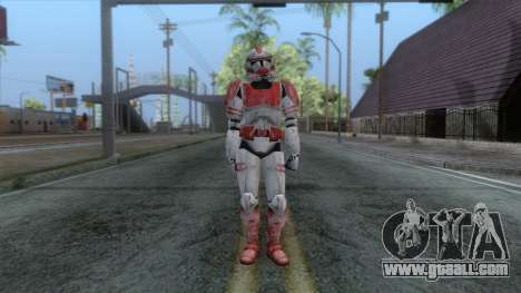 Star Wars JKA - Clone Shock Trooper Skin for GTA San Andreas second screenshot
