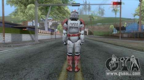 Star Wars JKA - Clone Shock Trooper Skin for GTA San Andreas third screenshot