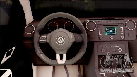 Volkswagen Amarok Turkish Gendarmerie Vehicle for GTA San Andreas inner view