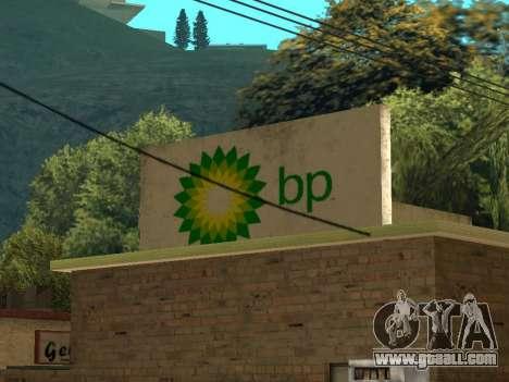 BP Gas Station for GTA San Andreas third screenshot