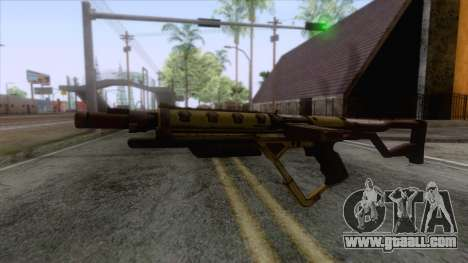 Evolve - Submachine Gun for GTA San Andreas