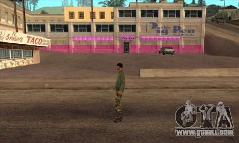 Psycho Beta Skin for GTA San Andreas second screenshot