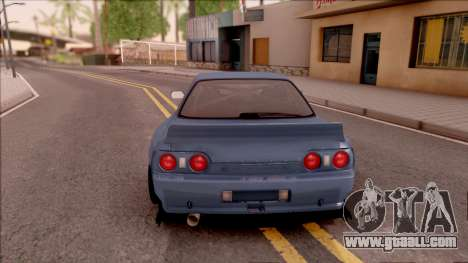 Nissan Skyline R32 Pandem Kit for GTA San Andreas back left view