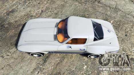 GTA 5 Chevrolet Corvette Sting Ray (C2) [replace] back view