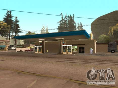 Chevron Gas Station for GTA San Andreas second screenshot