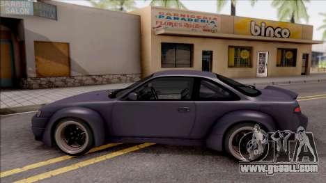 Nissan 200SX Rocket Bunny v4 for GTA San Andreas left view