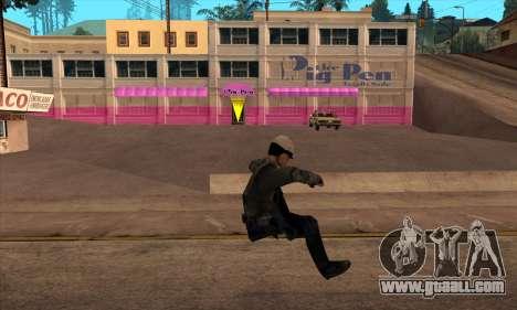Beta Skin SFPDM for GTA San Andreas third screenshot