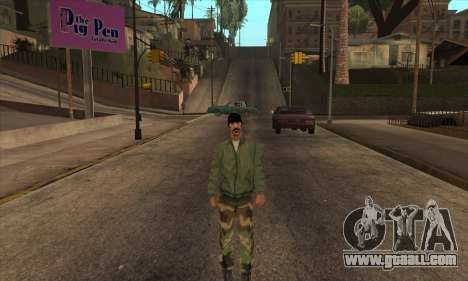 Psycho Beta Skin for GTA San Andreas