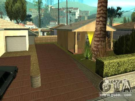 Parking Save Garages for GTA San Andreas