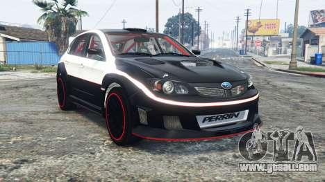 Subaru Impreza WRX STi (GRB) 2009 [replace] for GTA 5