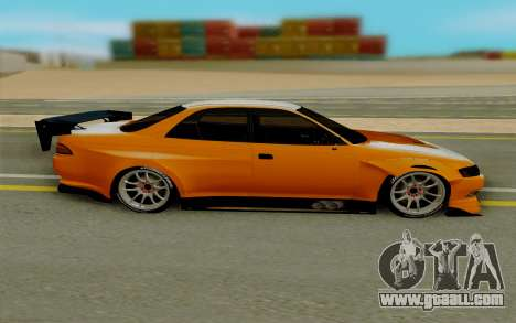 Toyota Mark 2 for GTA San Andreas left view
