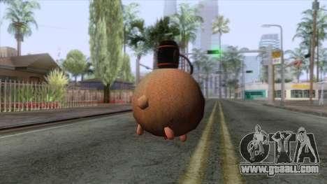 Sheep Grenade for GTA San Andreas second screenshot
