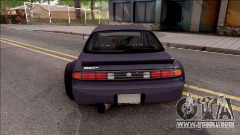 Nissan 200SX Rocket Bunny v4 for GTA San Andreas back left view