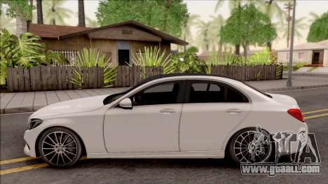 Mercedes-Benz C250 AMG Line v1 for GTA San Andreas left view