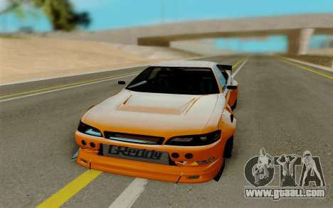 Toyota Mark 2 for GTA San Andreas back view