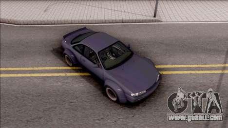 Nissan 200SX Rocket Bunny v4 for GTA San Andreas right view