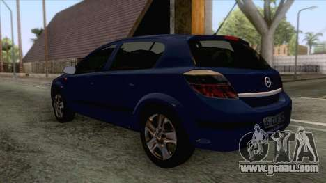 Opel Astra H for GTA San Andreas right view