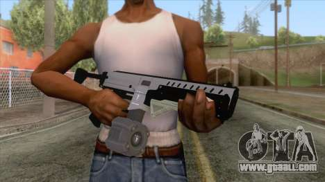 GTA 5 Coil Combat PDW Drum Magazine for GTA San Andreas third screenshot