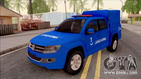 Volkswagen Amarok Turkish Gendarmerie Vehicle for GTA San Andreas