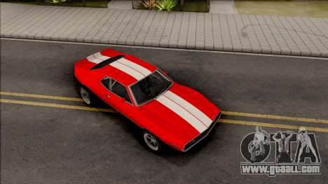 AMC Javelin AMX 401 Drag 1971 for GTA San Andreas right view
