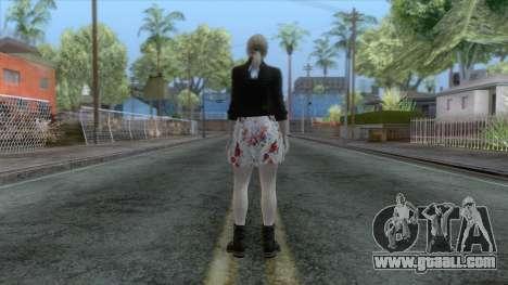Jill Valentine Dress v1 for GTA San Andreas third screenshot